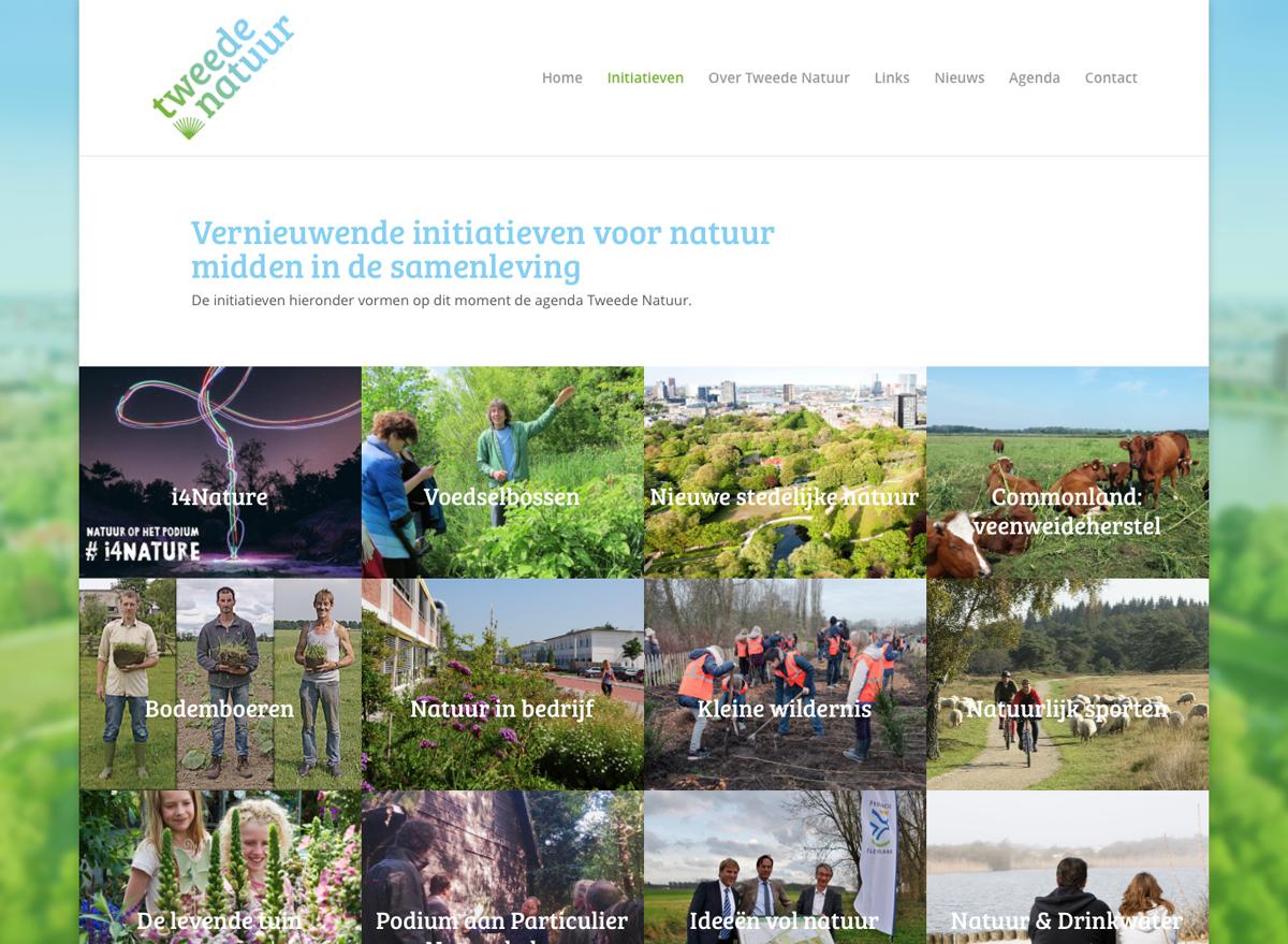 Alle initiatieven die verzameld zijn voor Tweede Natuur bieden inspiratie voor heel Nederland.